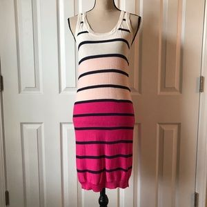 A + RO Striped Light Knit Dress M